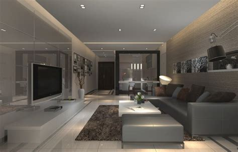 design for interior of modern living room wall and ceiling