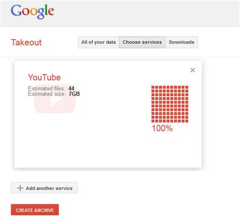 download youtube history download your youtube video history from google takeout