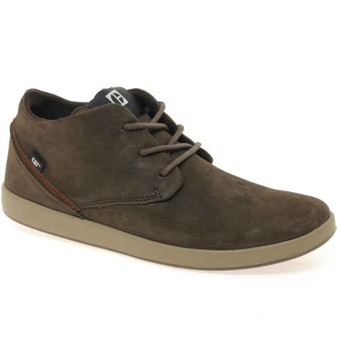 cat parkdale mens lace up casual shoes cat from charles