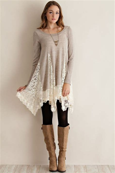 Tunic Shirtdress Or Supposed Wear Some With That by Whimsical Sweater Tunic Sand I Shirts And