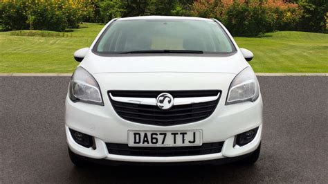 vauxhall meriva used vauxhall meriva 1 4i 16v 5dr petrol estate for