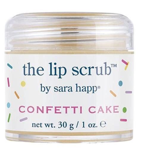 Lip Scrub Happ happ confetti cake lip scrub sounds musings