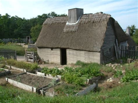 pilgrim house building a home plimoth plantation