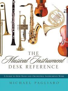 Musicians Desk Reference by The Musical Instrument Desk Reference A Guide To How Band