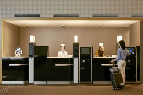 At The Front Desk by Would You Stay In A Hotel Staffed By Robots