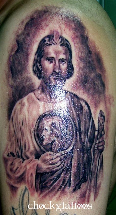 tattoos san judas tadeo religious picture at checkoutmyink