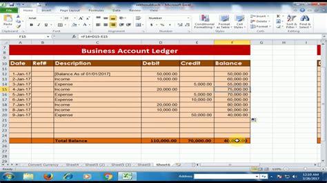 Formula For Credit Creation excel formula for credit debit and balance 28 images