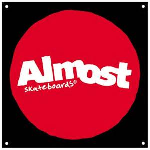 almost skateboards almost synergy logo banner 36x36