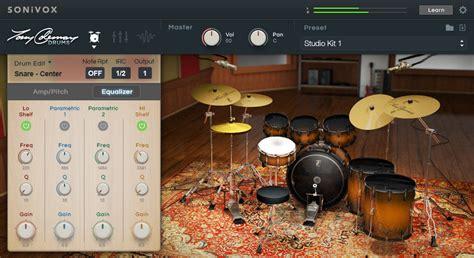 tutorial virtual drum electro pro sonivox tony coleman drums