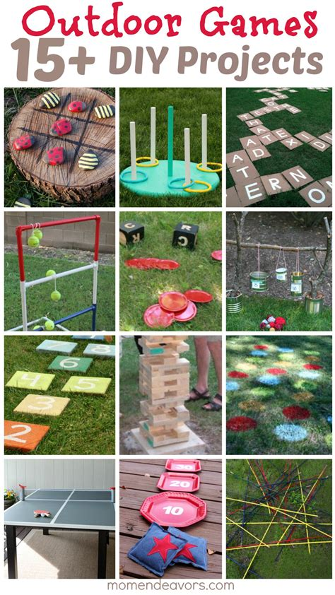 homemade backyard games diy outdoor games 15 awesome project ideas for backyard