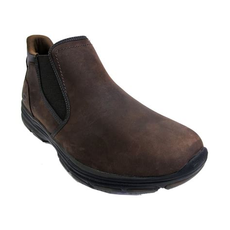 sketchers boots sketchers mens boots 64996 brown