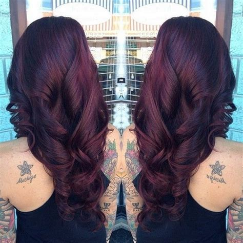 how will black cherry hair dye come out witj red hair black cherry hair color with culrs my style pinterest