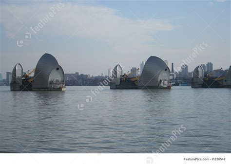 thames barrier extension thames barrier london stock picture i1236547 at featurepics