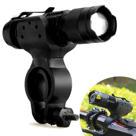 clip on fan for spin bike 5000lm cree led cycling bike bicycle high power flashlight