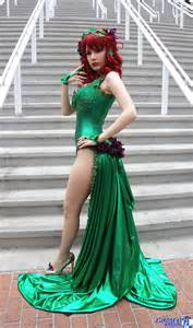 stunning poison ivy cosplay project nerd