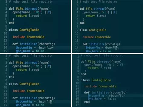 sublime text 3 vim theme what is the best sublime 3 color theme for better