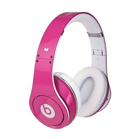 Headphone Beats blackberry torch review enjoy with pink cable beats by dr dre