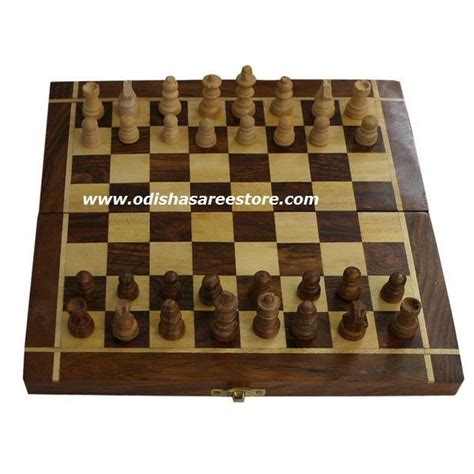 chess board buy wooden handcrafted chess board from saharanpur available