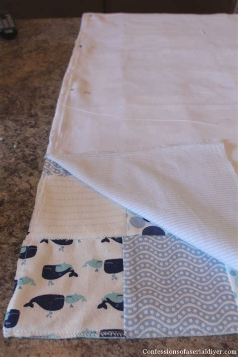 Receiving Blanket Quilt by Baby Quilt Made From Receiving Blankets View From The