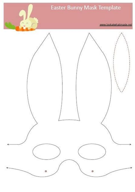 easter craft templates 25 best ideas about bunny mask on easter