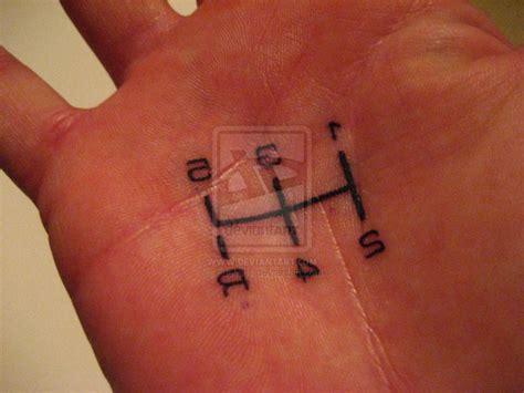 Shift Pattern Hand Tattoo   image gallery shifter tattoo