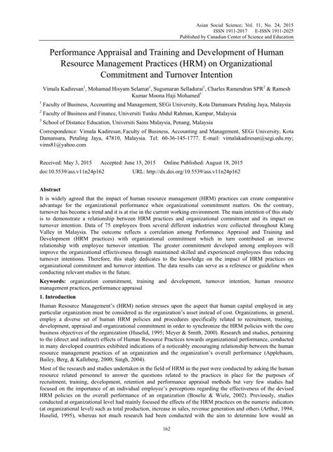 research paper on performance appraisal research paper on performance appraisal pdf 28 images