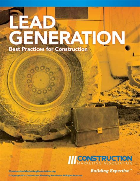 big hot potato lead generation best practices construction marketing
