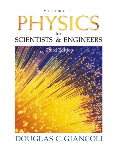 physics for scientists engineers vol 1 chs 1 20 4th edition ebook giancoli physics for scientists engineers vol 1 chs 1