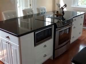 Custom Built Kitchen Islands Cobourg Kitchen Reno With Ikea Cabinets Ikea Installer