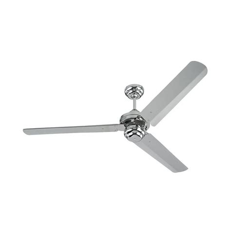 Modern Ceiling Fan Without Light In Polished Nickel Finish Modern Ceiling Fans Without Lights