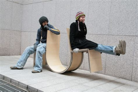 Swing Ls by Can Furniture Encourage Social Interaction Citylab