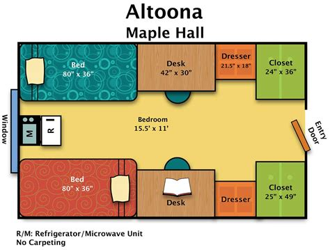 Florida Style Home Plans residence halls altoona housing amp food services