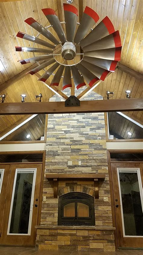 client  windmill ceiling fan living room ceiling