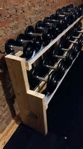 1000 ideas about dumbbell rack on weight rack