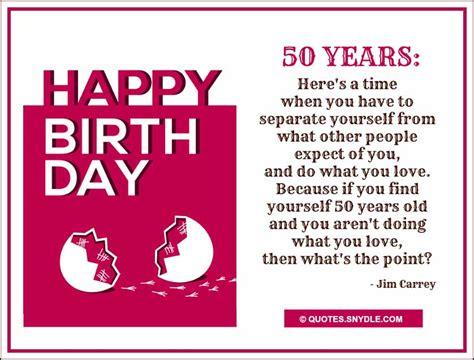 50th Birthday Quotes For 50th Birthday Quotes Quotes And Sayings