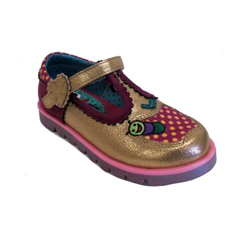 Eye Gold Shoes irregular choice shoe apple of my eye gold
