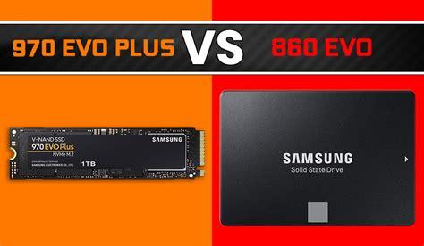 samsung 970 evo plus vs 860 evo ssd review nvme vs sata 2019
