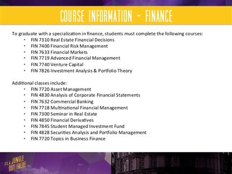 Financial Advisor Mba Degree by Lsu Flores Mba Program Finance And Financial Planning