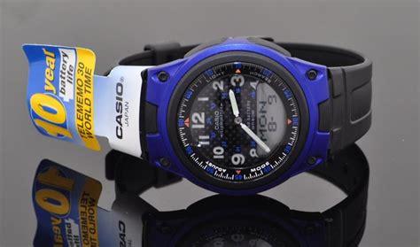 Jam Tangan Wanitacewek Casio Original Terbaru Rantai jual casio aw 80 rubber rantai baru harga jam tangan