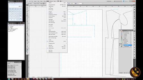 pattern drafting illustrator pattern drafting using adobe illustrator brief overview