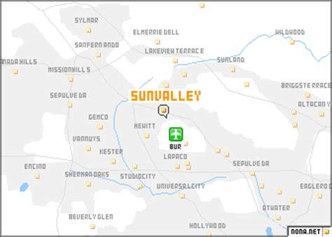 sun map usa sun valley united states usa map nona net