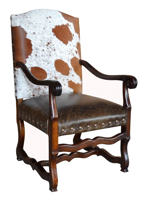 cowhide armchairs classic cowhide arm chair john proffitt