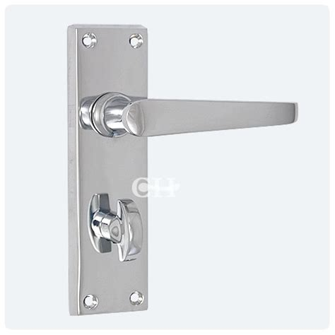 privacy bathroom lock victorian door lever handle on privacy bathroom plate in chrome from cheshire hardware