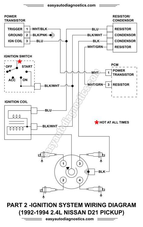 Part 2 -1992-1994 2.4L Nissan D21 Pickup Ignition System