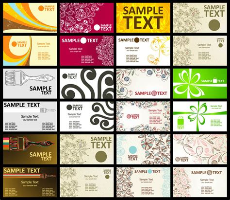printer business card template business card templates