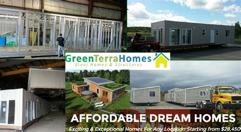 green terra homes factory built modular a277 steel homes