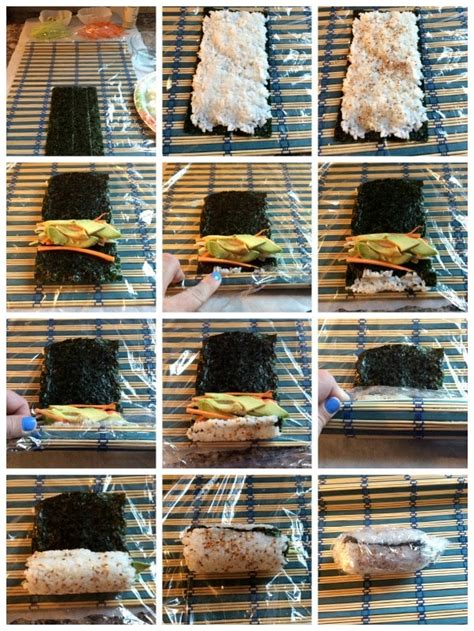 Sushi Without Mat by Diy Sushi Recipe California Roll Somewhat Simple