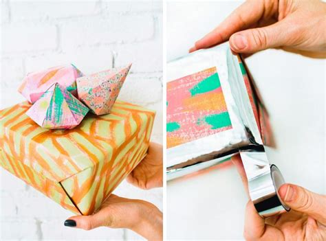 design love fest wrapping paper 10 diy holiday gift wrapping ideas