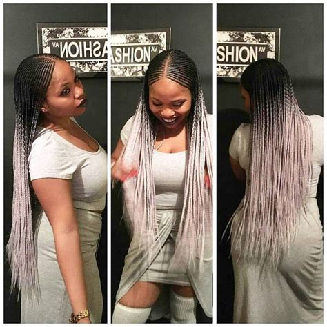 how to braid hair with middle part 1000 ideas about ghana braids on pinterest box braids