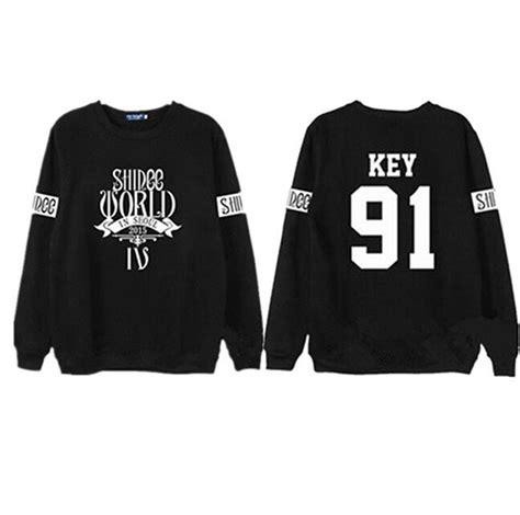 Hoodie Taemin Danger Cimot Clothing shinee concert fans supportive hoodies kpop taemin min ho o neck black white sweatshirt plus